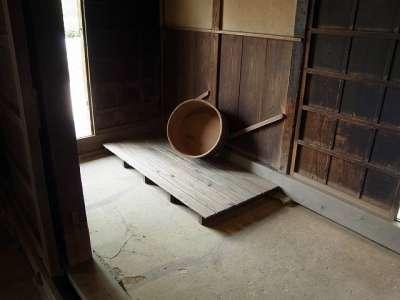 旧松澤家住宅 風呂場