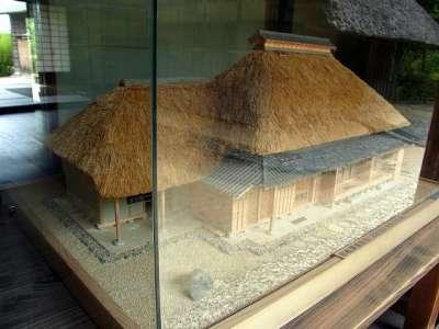 旧松澤家住宅(模型)