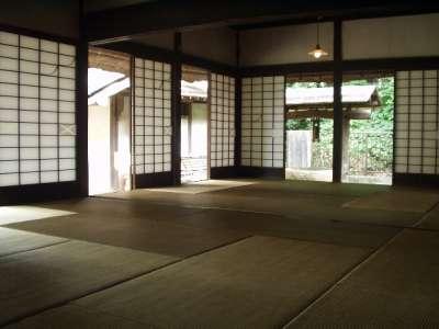 旧田中家住宅 十二畳のザシキ