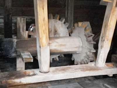 川崎市立 日本民家園 水車小屋内部