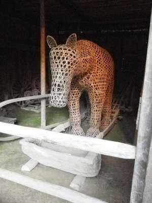 川崎市立 日本民家園 工藤家 馬屋の馬人形