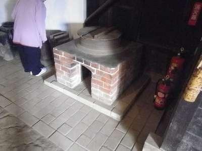 旧和井田家住宅 (東京都足立区) かまど