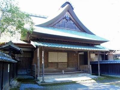 江川邸 母屋玄関