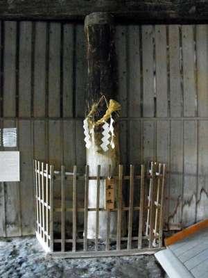 江川邸 生き柱