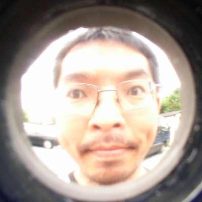 灰皿魚眼レンズ