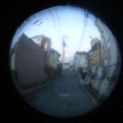 ビー玉レンズ写真