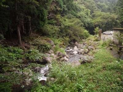 天滝渓谷 登山口駐車場