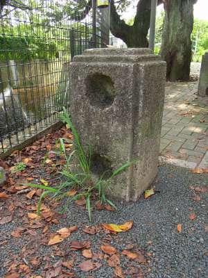 川崎市二ヶ領用水久地円筒