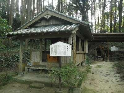 本庄の石仏(宮崎県国富町) お堂