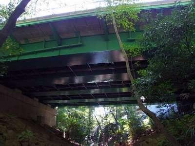 等々力渓谷 玉沢橋