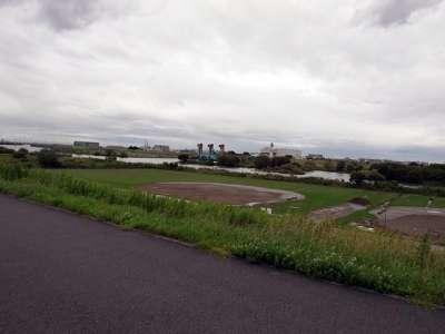 三郷放水路 松戸排水機場