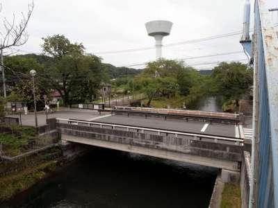 羽村取水堰(投渡堰)入口
