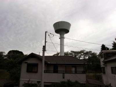 羽村取水堰(投渡堰) 給水タンク