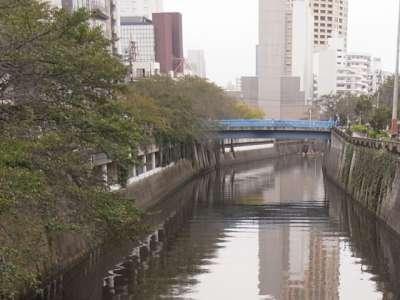 目黒川船入場調節池 流入口