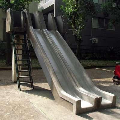 板橋区律こども動物園 すべり台