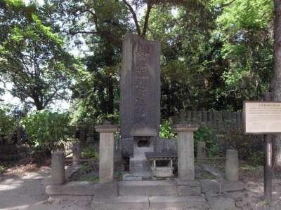 白虎隊自刃の地 会津藩殉難列婦の碑