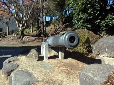 韮山反射炉  鋳造した大砲