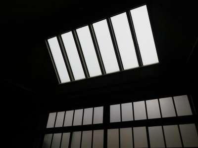 中村彝アトリエ記念館 天窓