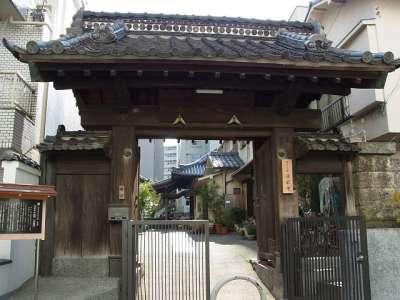 浄栄寺の山門「甘露門」