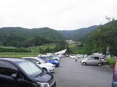 あゆ公園駐車場(兵庫県養父市大屋)