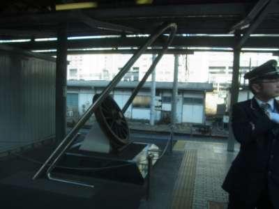 品川駅開業130周年記念碑