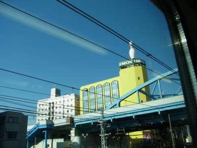 蒲田 イモンボウルと蒲田陸橋