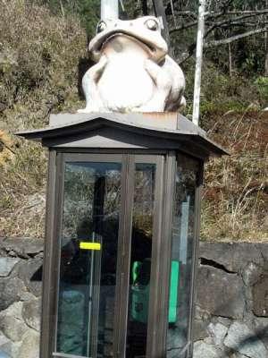 筑波山 電話ボックス