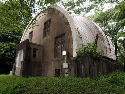 国立天文台三鷹キャンパス 子午環室