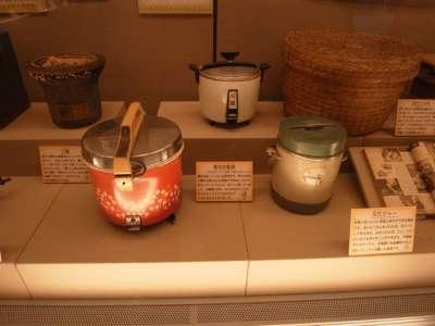 杉並区立郷土博物館 炊飯器など