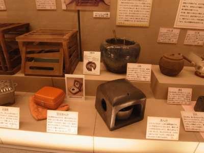 杉並区立郷土博物館 暖房器具いろいろ