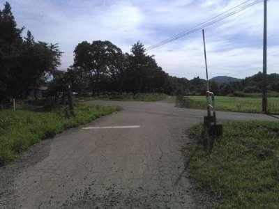 戸ノ口原古戦場付近