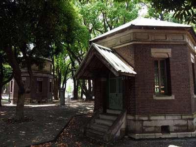 東京海洋大学 第一観測台と第二観測台
